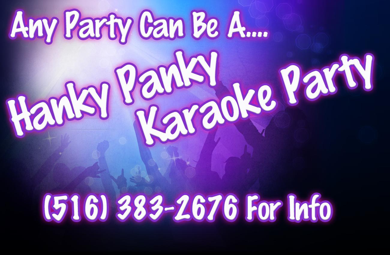 Hanky Panky Karaoke